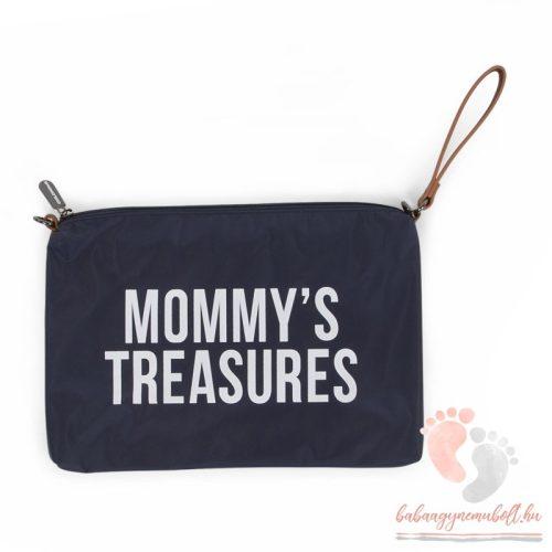 Mommy Clutch - navy-white