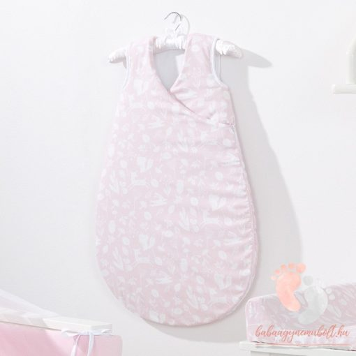 Prémium baba hálózsák - Rózsaszín vadon