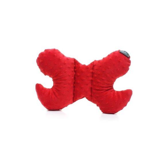 Pihe-puha pillangó párna Kiserdő piros