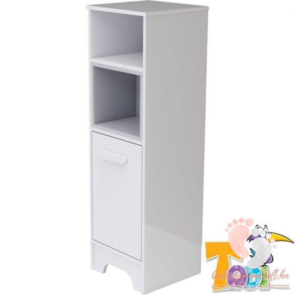 Todi Bianco keskeny nyitott + 1 ajtós szekrény