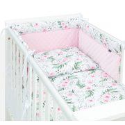 Prémium rácsvédő - Virágok rózsaszínnel