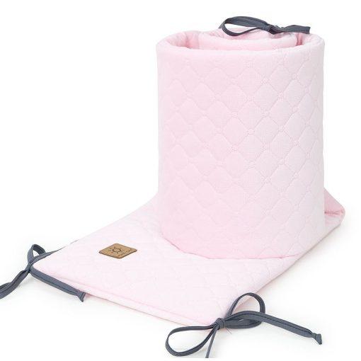 Prémium velvet rácsvédő - Púder rózsaszín
