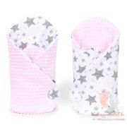 Prémium minky pólya - Starmix rózsaszínnel