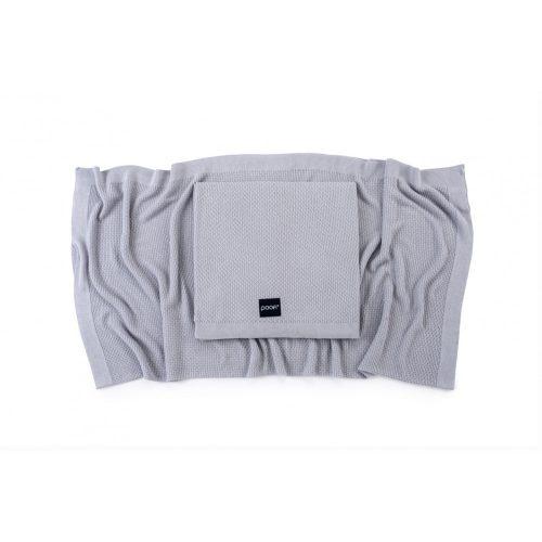 Deluxe kötött bambusz takaró - Ice