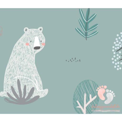 Pihe-puha pamut babaágynemű - Alaszka
