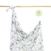Könnyű álom bambusz takaró 100x120 cm - Zúzmara