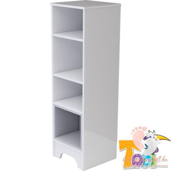 Todi Bianco keskeny nyitott polcos szekrény