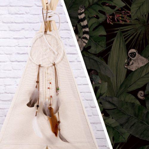Makaszka indián sátor - Állati detektívek