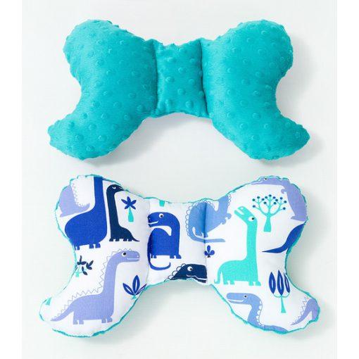 Prémium pillangó párna - Járművek kékkel