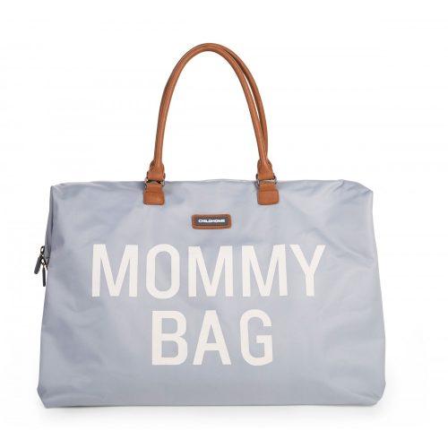 Mommy Bag - Big grey off white