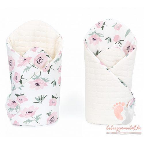 velvet pólya - Virágszál ekrüvel