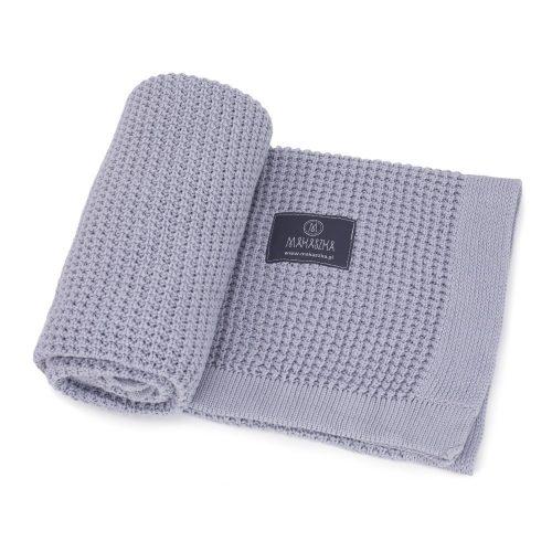 Könnyű álom bambusz-pamut kötött takaró - Grey
