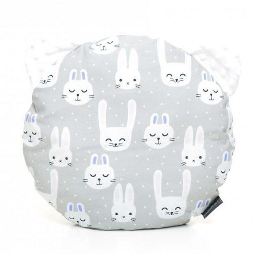 Pihe-puha macipárna Funny Bunny fehér