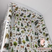 Babaágynemű garnitúra 3 részes - Erdő