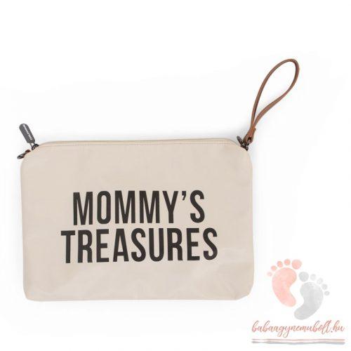 Mommy Clutch - Big off white