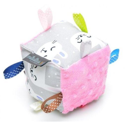 Pihe-puha babakocka - Funny Bunny rózsaszín