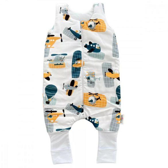 Prémium babaágynemű garnitúra 3 részes hímzett huzat - Maci nyuszival barack