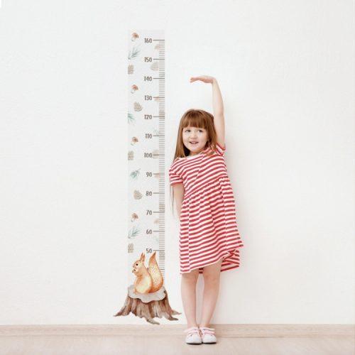 Design falmatrica - Mókuskás magasságmérő