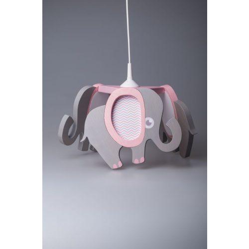 Elefánt rózsaszín csillár