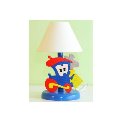 Mozdony éjjeli lámpa