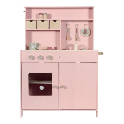 Little Dutch fa játékkonyha pink előrendelhető - novembertől szállítjuk!