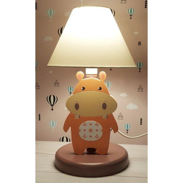 Víziló lazac éjjeli lámpa